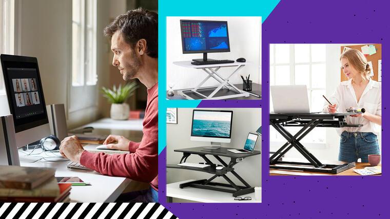 Escritorio para computadoras para teletrabajo, trabajo en casa y home office