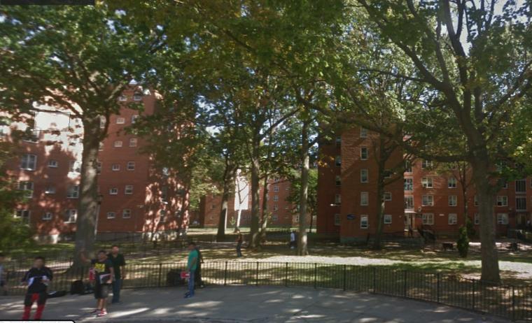 Viviendas municipales en Woodside, en el barrio neoyorquino de Queens.