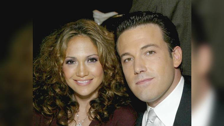 Jennifer Lopez y Ben Affleck en los The Spirit Of Liberty Awards 2003