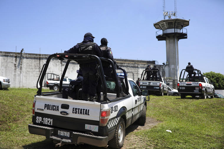 Una cárcel en Veracruz, México