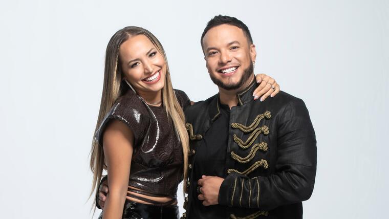 Lorenzo Méndez y Jessica Díaz