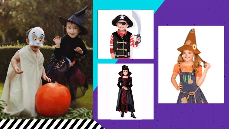 Disfraces de Halloween para niños, niñas y bebés.