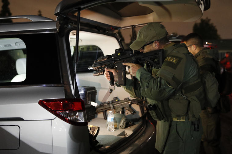 Operativo contra la Mara Salvatrucha en LA