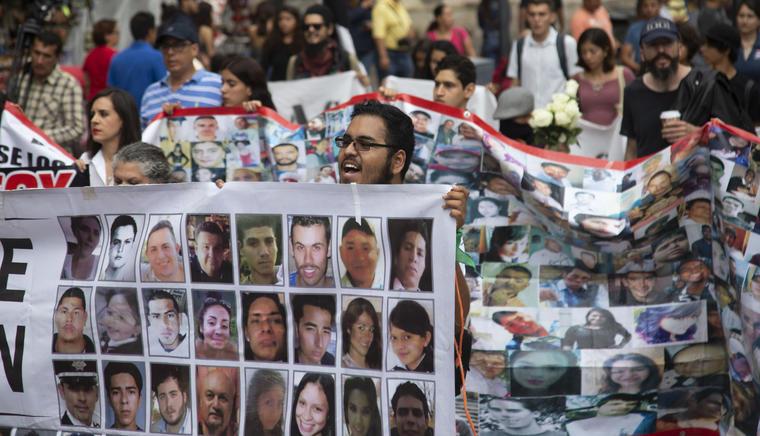 ONU-DH pide a López Obrador priorizar lucha contra desapariciones forzadas