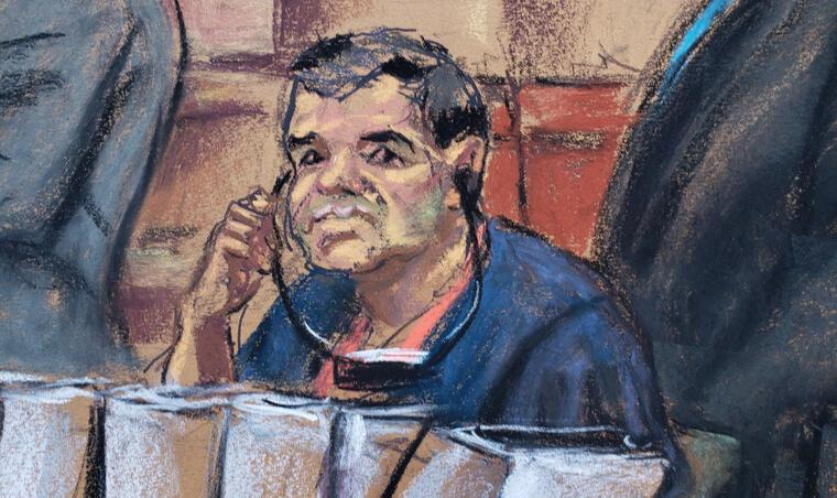 """Joaquín """"El Chapo"""" Guzmán sufre revés y el juicio en su contra mantiene fecha"""