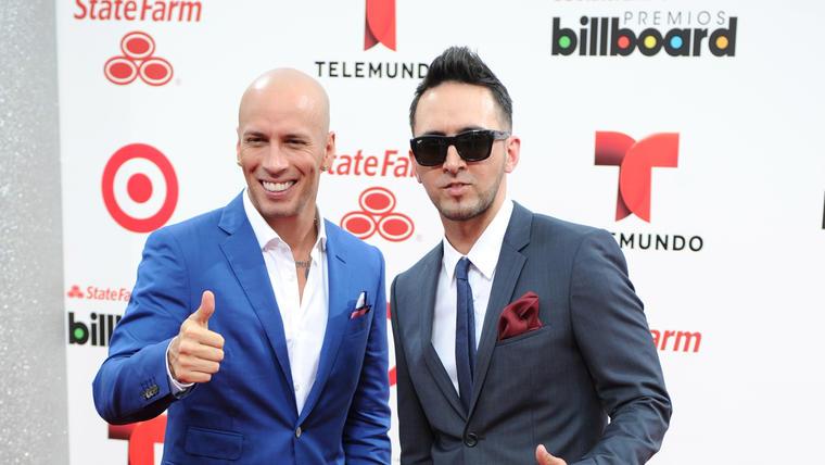 Alexis Y Fido en los premios Billboard Latin Music 2014.