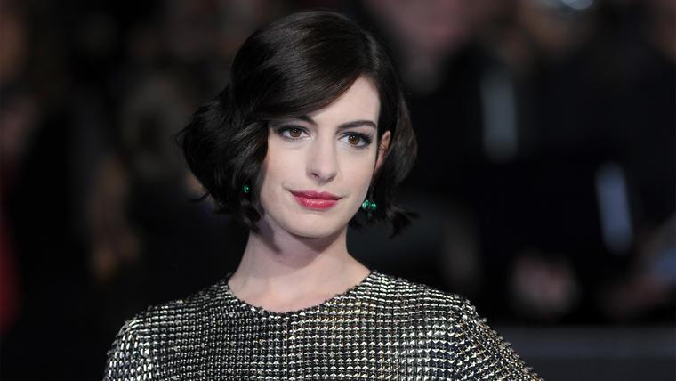 """Anne Hathaway en la premiere de """"Interstellar""""."""