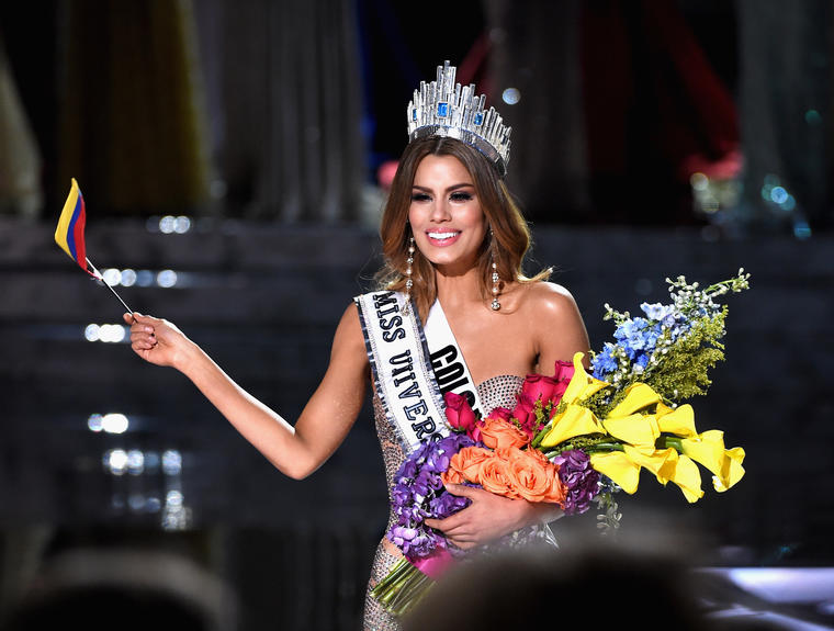 Miss Colombia Ariadna Gutiérrez: The 2015 Miss Universe Pageant