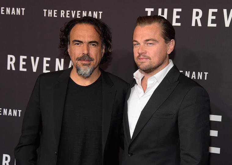 """Alejandro González Iñárritu and Leonardo DiCaprio"""" - The Revenant"""" New York Special Screening"""