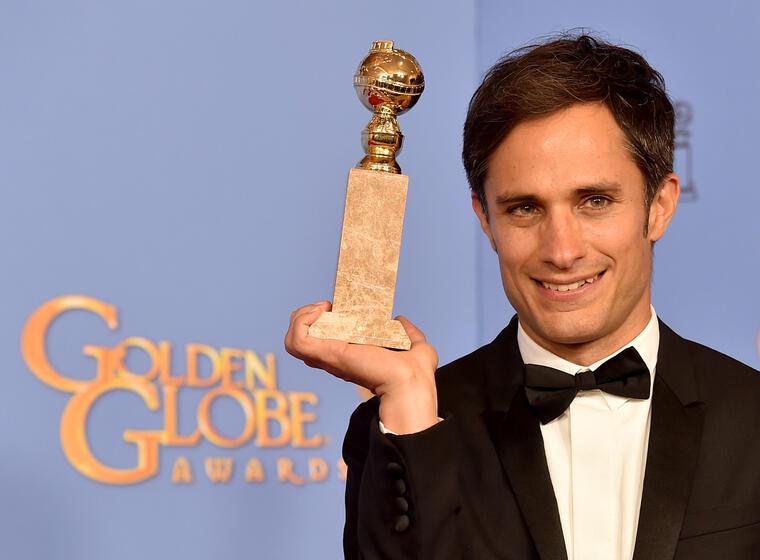 Gael Garcia Bernal - 73rd Annual Golden Globe Awards - Press Room
