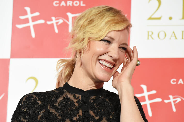 Cate Blanchett - 'Carol' Stage Greeting In Tokyo