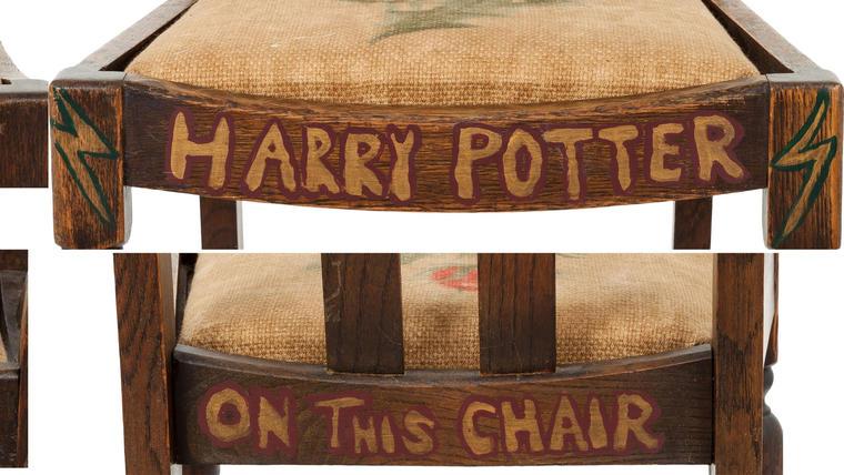"""A subasta la silla de autora de """"Harry Potter"""""""