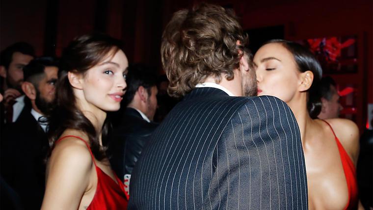 El beso de Irina Shayk y Bradley Cooper que todos queríamos ver