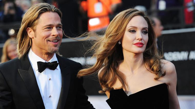 Angelina Jolie le pide el divorcio a Brad Pitt