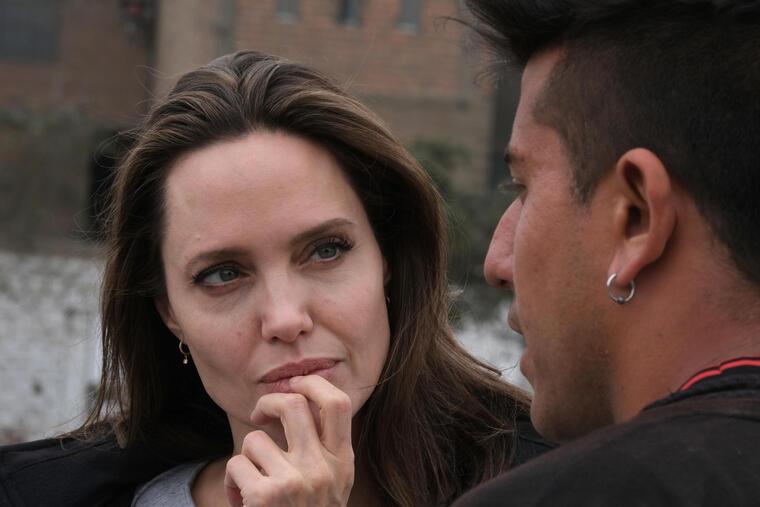 Angelina Jolie visita Perú