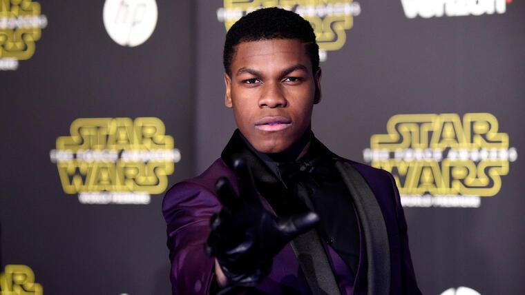 John Boyega estreno Star Wars: The Force Awakens