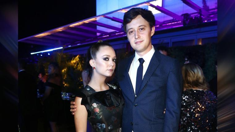 Billie Lourd y su prometido Austen Rydell