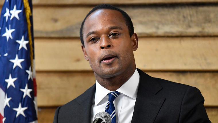 El fiscal general de Kentucky, Daniel Cameron.