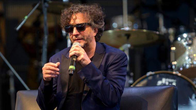 El legendario cantante y compositorFito Páez