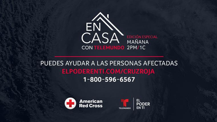 Únete a 'En Casa con Telemundo' para apoyar a los damnificados por los huracanes Eta e Iota
