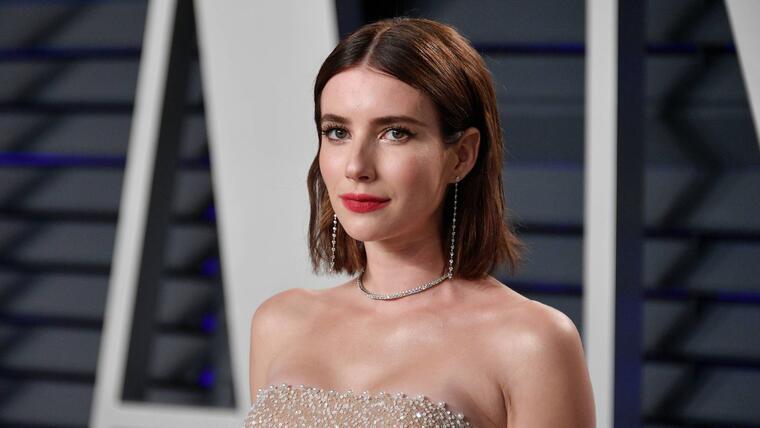 Emma Roberts Vanity Fair Oscar Party 2019