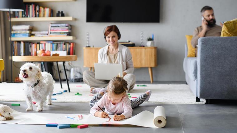 Actividades para niños durante el home office