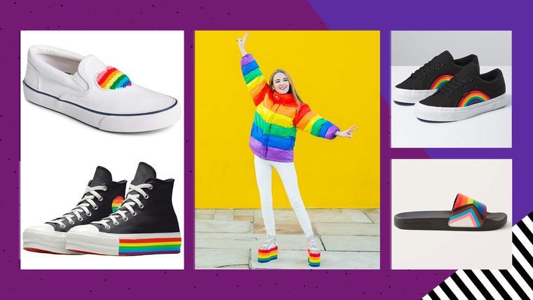 Zapatos que podrás usar este Pride Month y todo el año