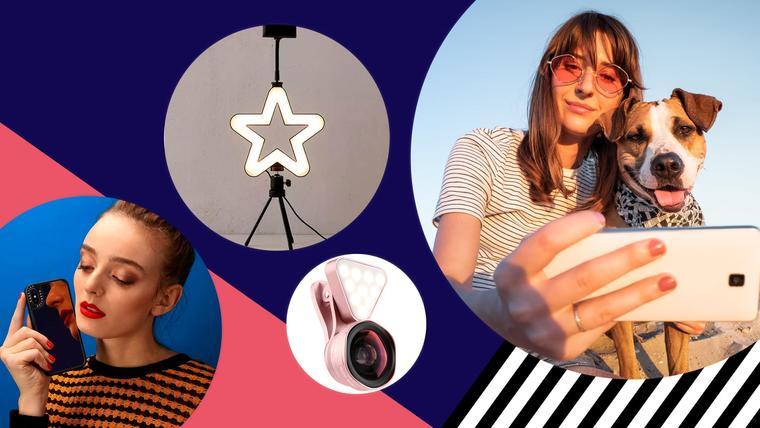 Gadgets y piezas de moda para sacar las mejores selfies