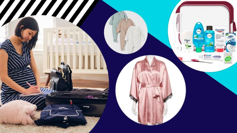 No olvides estos 20 esenciales a la hora de empacar tu maleta de maternidad