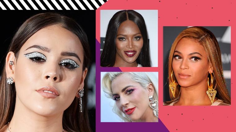 Luce como famosa con el maquillaje y cabello destellante | Telemundo