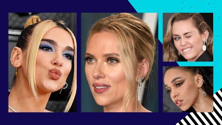 Súmate a las famosas con la tendencia de los aretes múltiples   Telemundo