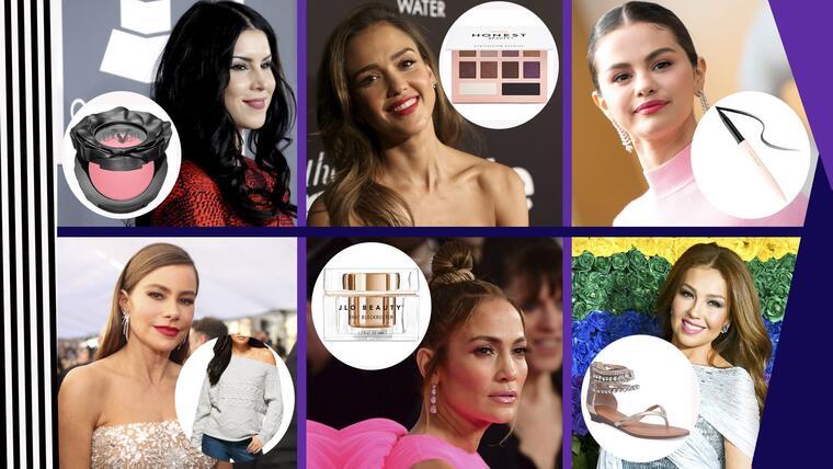 6 marcas de las hispanas famosas que debes de conocer | Telemundo