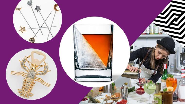 12 esenciales para crear un fabuloso carrito de bar casero | Telemundo