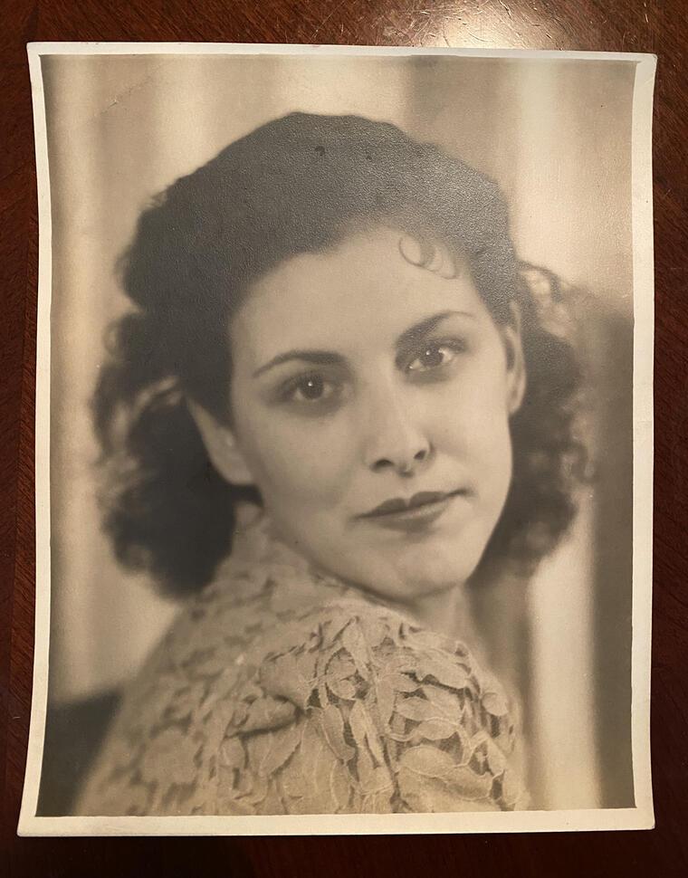 Mary Franco, quien fue esterilizada a los 13 años en 1934 en una institución de salud mental estatal en California.