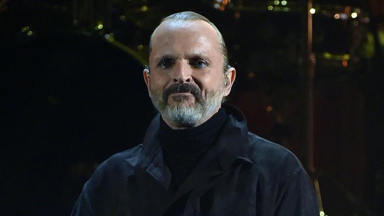 Miguel Bosé en los Latin Grammys 2014