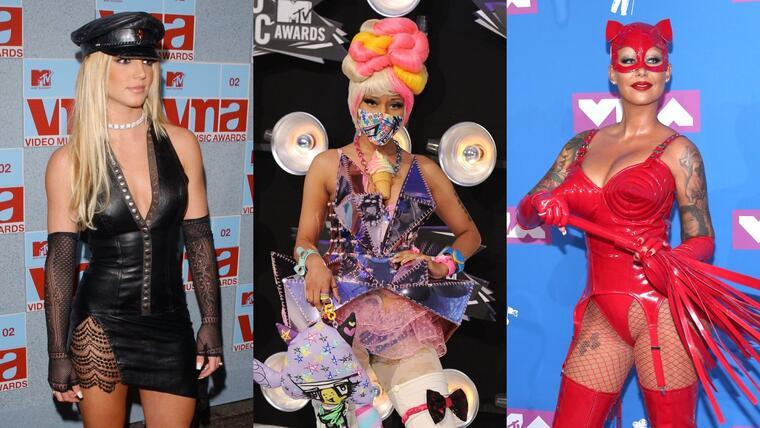 Britney Spears, Nicki Minaj y Amber Rose