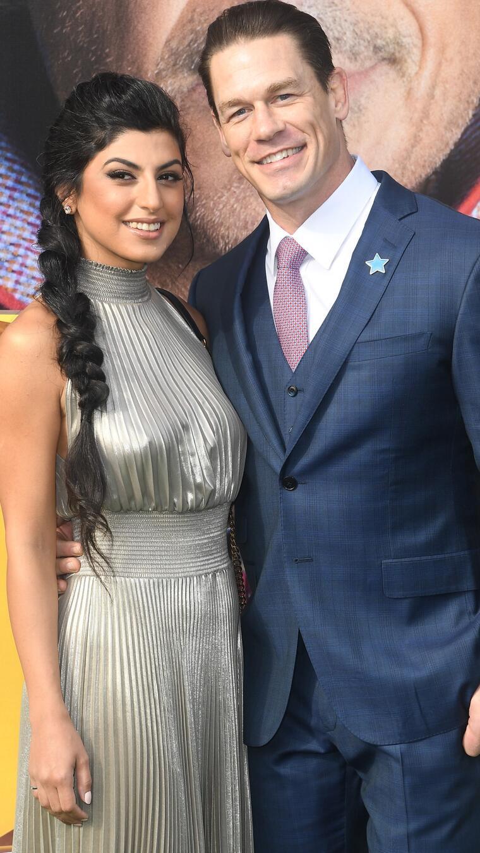 John Cena y Shay Shariatzadeh