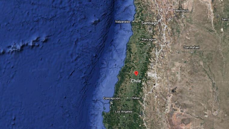 Un sismo de magnitud 5,8 —según el informe preliminar del USGC— se sintió en el centro e Chile con epicentro a 35 kilómetros del barrio de Nuñoa, en Santiago y una profundidad de 110 kilómetros.