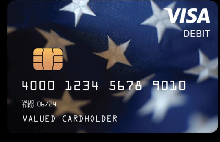 Así luce la tarjeta EIP prepagada que será enviada esta semana a 4 millones de estadounideses elegibles para el pago.