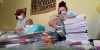 Envían útiles a niños huérfanos por el COVID-19 en Michoacán