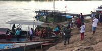 Choque en el río Huallaga de Perú deja al menos 12 muertos