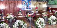 Velan en El Salvador a las víctimas del asesino de Chalchuapa