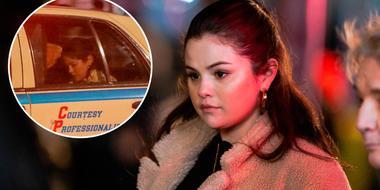Selena Gomez filmando 'Only Murders in the Building'