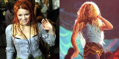 Shakira, pelo rubio y rojo, cambio de look.