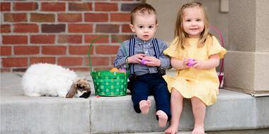 Outfits de pascua para niños