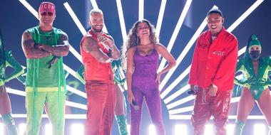 Wisin, Maluma, Anitta & Myke Towers en los Latin American Music Awards 2021