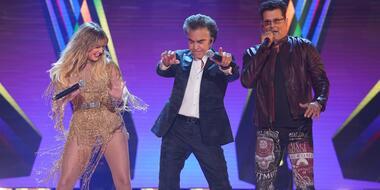 Sofía Reyes, José Luis Rodríguez 'El Puma' y Carlos Vives en los Latin American Music Awards 2021