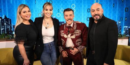 Chiquis, Rosie, Don Pedro y Lupillo Rivera en Don Francisco Te Invita en 2018