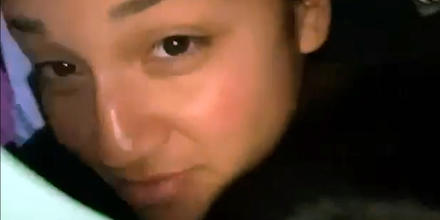 Vanessa Guillen en un video familiar.