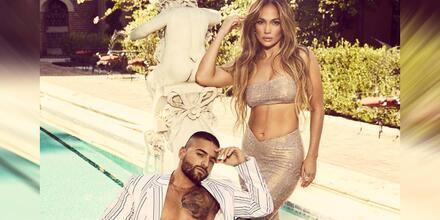 Maluma con Jennifer Lopez en Billboard